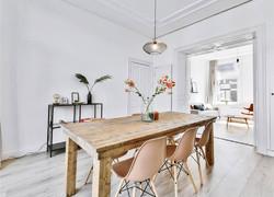兩居室現代簡約風格餐廳裝修設計圖片