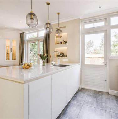 一楼别墅简欧风格厨房设计图片