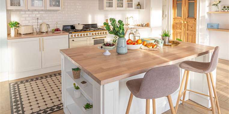 日系小清新系列厨房设计图片