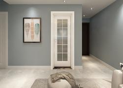80平米簡歐風格客廳墻面裝修設計圖