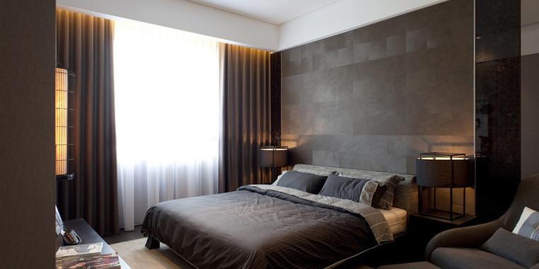 后现代风格两居室卧室装修设计效果图