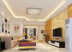 70平方米現代風兩室一廳裝修效果圖
