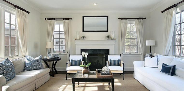 120平欧式风格客厅装修效果图