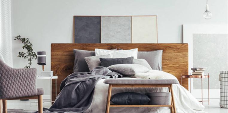 100平欧式风格卧室装修设计图片