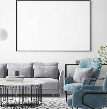 120平欧式简约风格客厅装修效果图