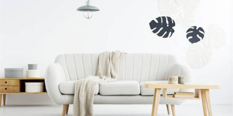 小户型现代小清新客厅装修设计图片