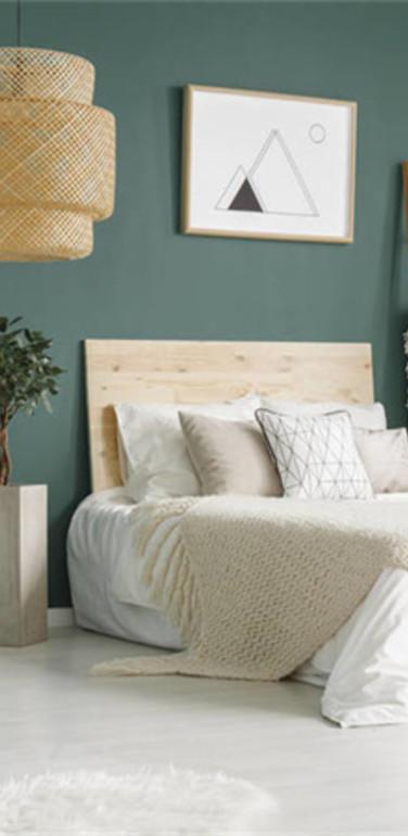 三居室欧式风格卧室装修图片