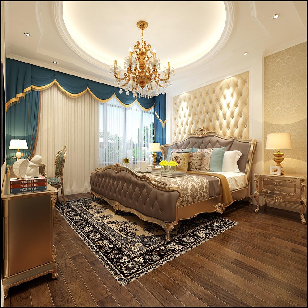 龍湖—廣東名匠裝飾歐式風格裝修效果圖