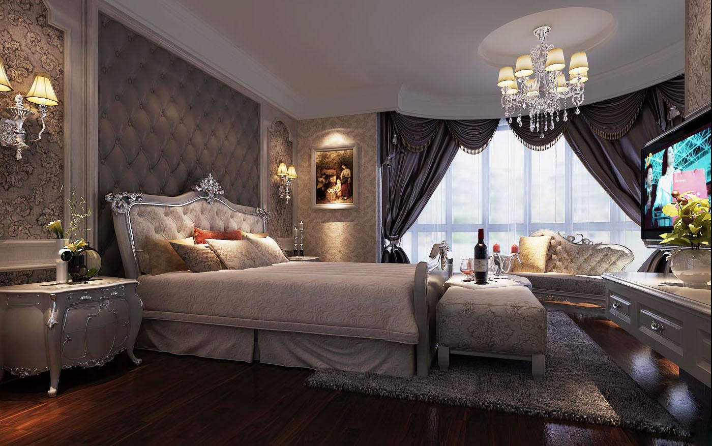 安家林自建别墅效果欧式风格装修效果图