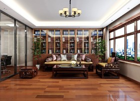 東方雅苑辦公網點裝修設計案例