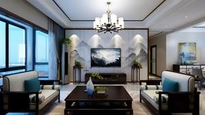洛阳146㎡中式风格装修效果图