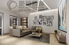 【鹏晨装饰】世茂滨江花园二期129平现代现代简约装修案例