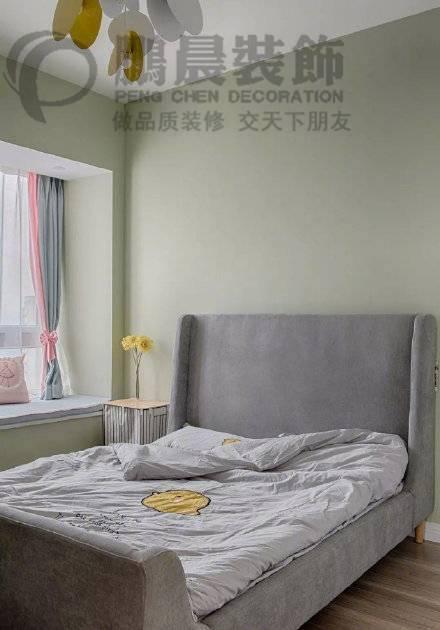 【鹏晨装饰】宏金金色水岸98平...98㎡普通户型现代简约装修案例