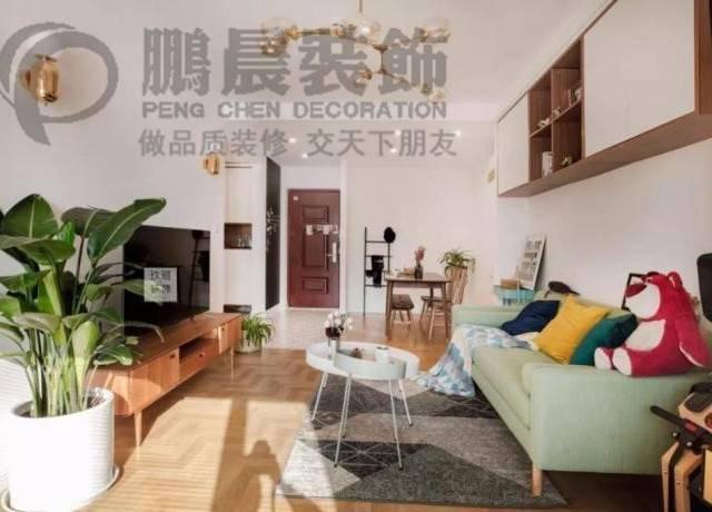 【鹏晨装饰】碧桂园镜湖世家98...98㎡普通户型现代简约装修案例