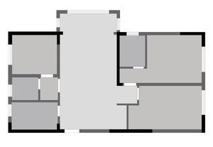济南140㎡现代简约装修效果图