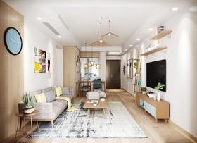三江立体城盛景园12楼装修设计案例