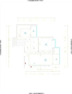 唐山95㎡美式风格装修效果图