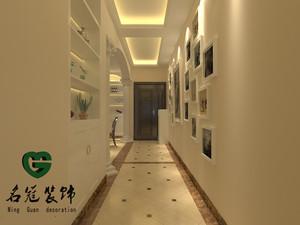 庐江100㎡美式风格装修效果图