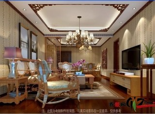 中式现代-阳光水榭