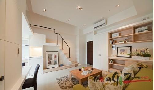 现代简约3房现代简约装修效果图