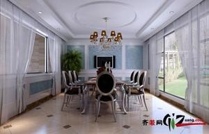 泗阳370㎡欧式风格装修效果图