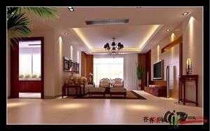 舟山120㎡中式风格装修效果图