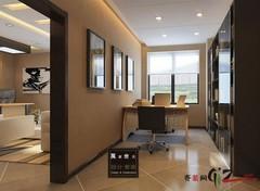 新区科技城办公室现代简约实景图