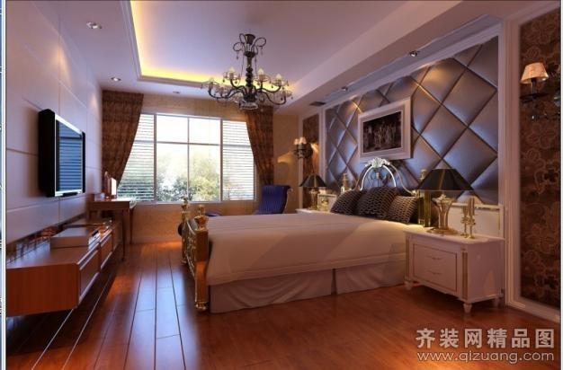 私家小别墅欧式风格装修效果图