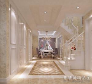 泗阳135㎡古典风格装修效果图
