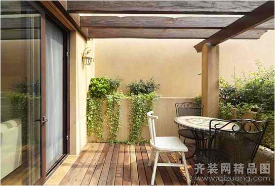 玉华花园中式风格装修效果图