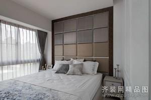 泗阳90㎡美式风格装修效果图