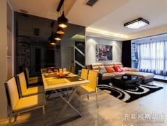 75平婚房简约风格 精致优雅小户型 80后都市小资浪漫婚房