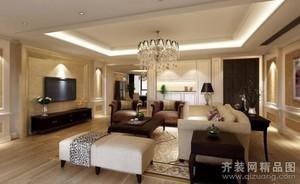 杭州132㎡现代简约装修效果图