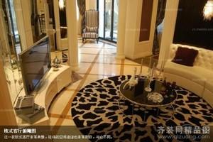泗阳230㎡中式风格装修效果图