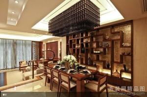 泗阳123㎡古典风格装修效果图