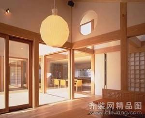 泗阳420㎡中式风格装修效果图