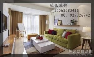 济南132㎡现代简约装修效果图