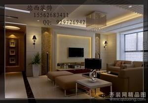 济南98㎡现代简约装修效果图