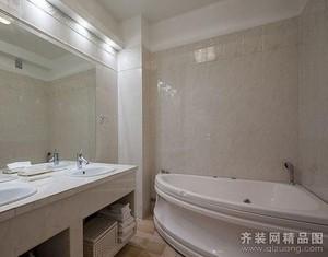 杭州120㎡欧式风格装修效果图