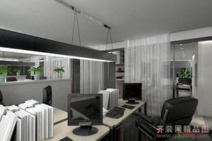 杭州200㎡现代简约装修效果图
