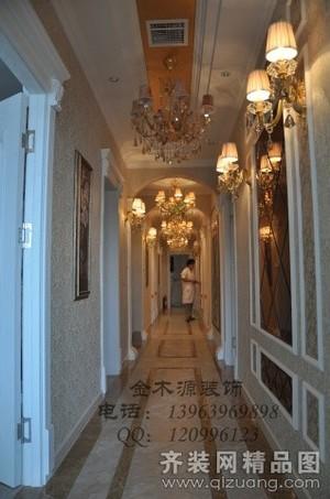 青島400㎡歐式風格裝修效果圖