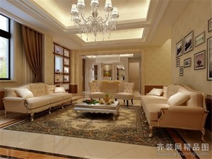 杭州110㎡现代简约装修效果图