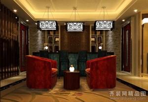 杭州500㎡现代简约装修效果图