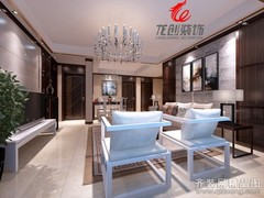 华润国际中式风格装修案例