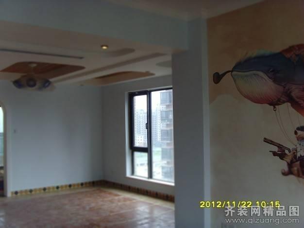 珑西泽第120㎡复式户型地中海风格装修案例