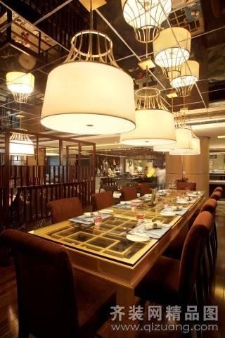 李氏餐厅350㎡普通户型现代简约装修案例