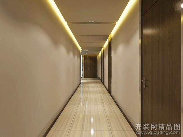 中坤实业管理有限公司办公室现代简约装修效果图