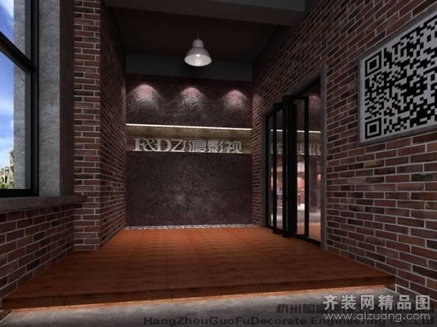 杭州飞渡影视广告有限公司400㎡普通户型现代简约装修案例