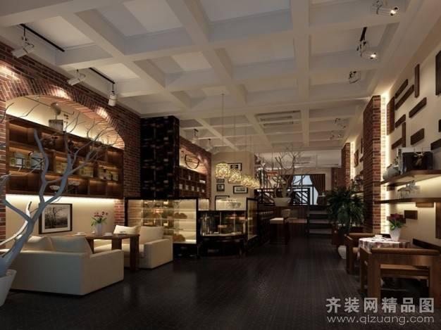 樱桃小镇咖啡店320㎡普通户型古典风格装修案例