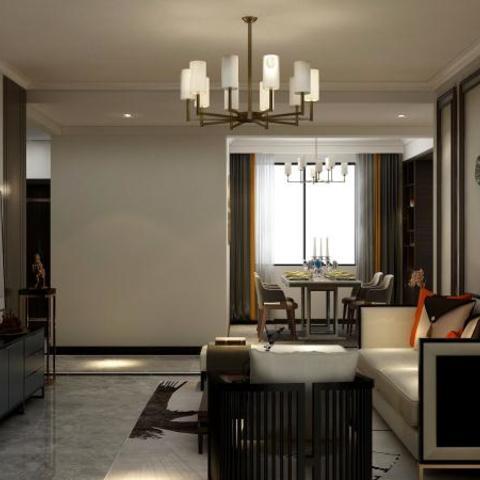 中式现代-繁华城一号楼